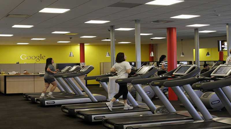 Alat Gym di Goolgeplex