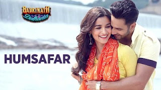Humsafar Piano Notes (Badrinath Ki Dulhania)