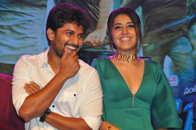 hyper audio launch hd stills 5 - Rashi Khanna Sexiest Cleavage Pictures Collection-Hot HD Photos