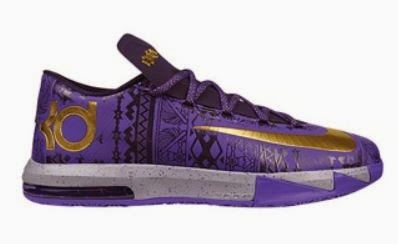 detailed look 4af04 a3b0e 2014 Nike KD 6 VI BHM Sneaker Available NOW (Detailed Look)