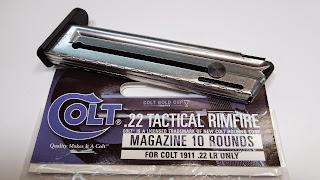 517030810 colt government govt 1911A1 1911 22LR gold cup railgun rail gun GI rimfire UMAREX Walther 517-602