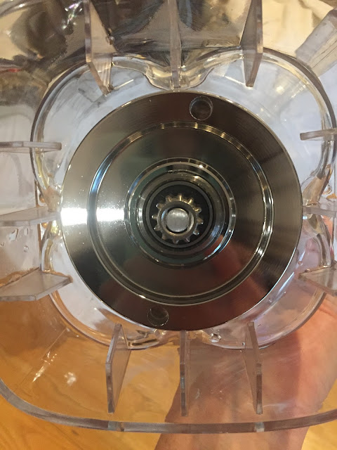 The all-metal gear on the bottom of the Avamix blender canister I bought on Webstaurantstore.com