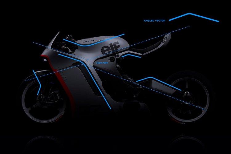 The concept of Moto's MONO RACR 7