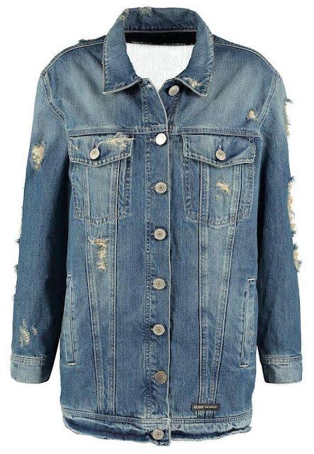 giubbino jeans oversize guess giacca jeans tendenza autunno 2016 tendenze moda