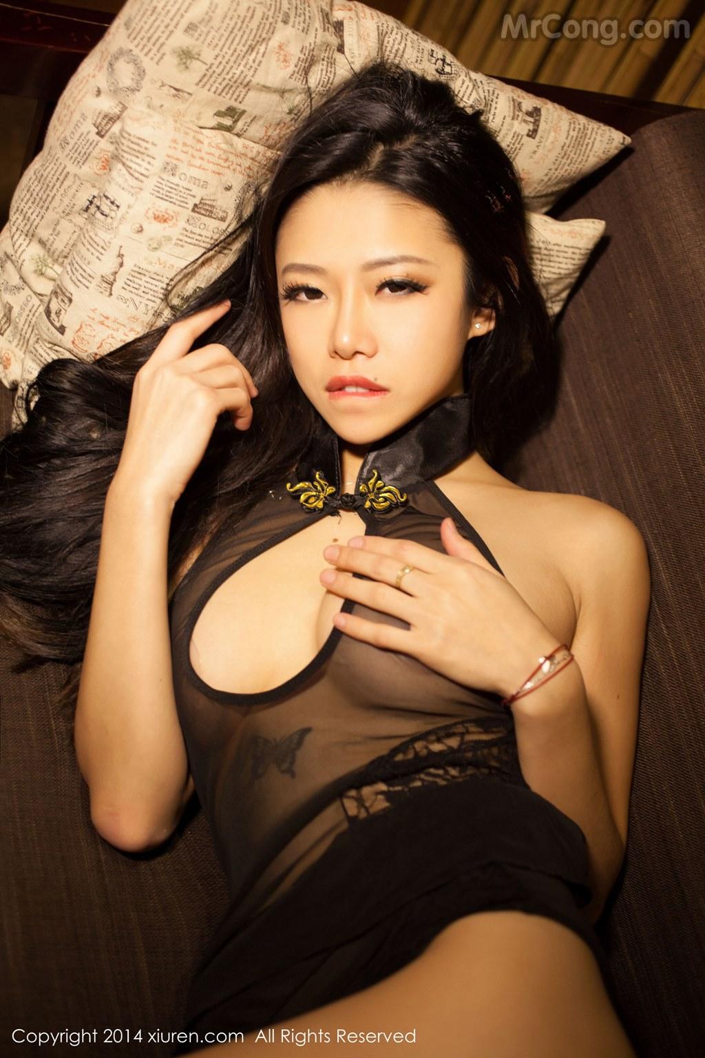 Image MrCong.com-XIUREN-No.147-Luvian-Ben-Neng-050 in post XIUREN No.147: Người mẫu Luvian (本能) (62 ảnh)