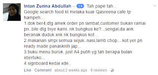 Qasreena Cafe Melaka