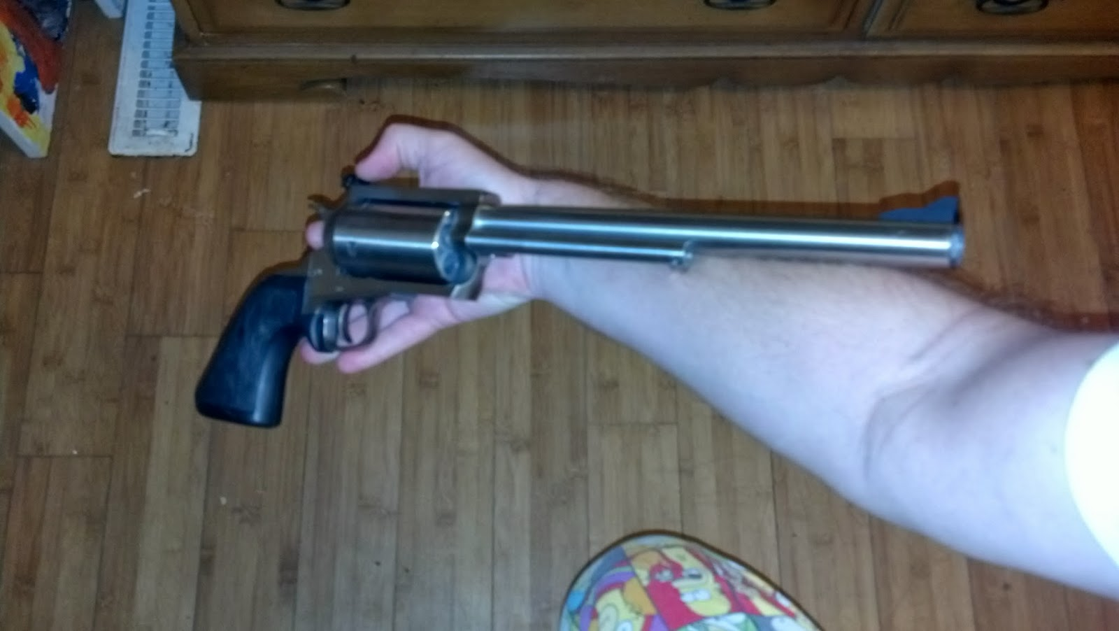 Magnum Research Bfr In 45 70 Gov T Powder Monkey Gun Tech