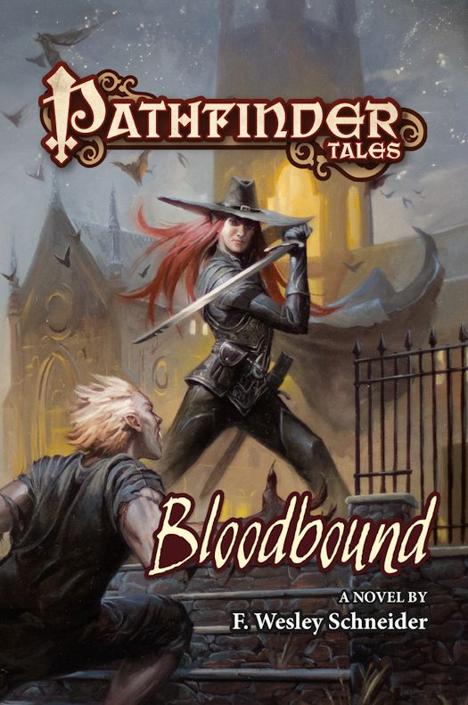 Interview with F. Wesley Schneider, author of Bloodbound