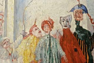 musées royaux des beaux-arts de Bruxelles  musée Fin du siècle James Ensor : les masques singuliers