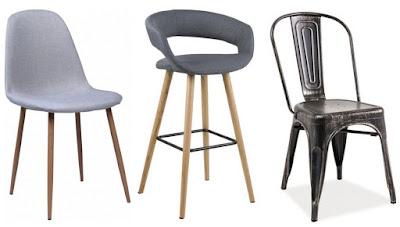 Dodatki i meble w industrialnym stylu oraz nowe krzesło w domowym biurze