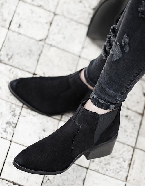 Bershka ankle boots