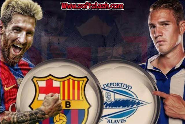 """شاهد مباراة ألافيس ضد برشلونة عبر البث المباشر أو عبر سيرفر""""iptv"""" بدون تقطيع"""