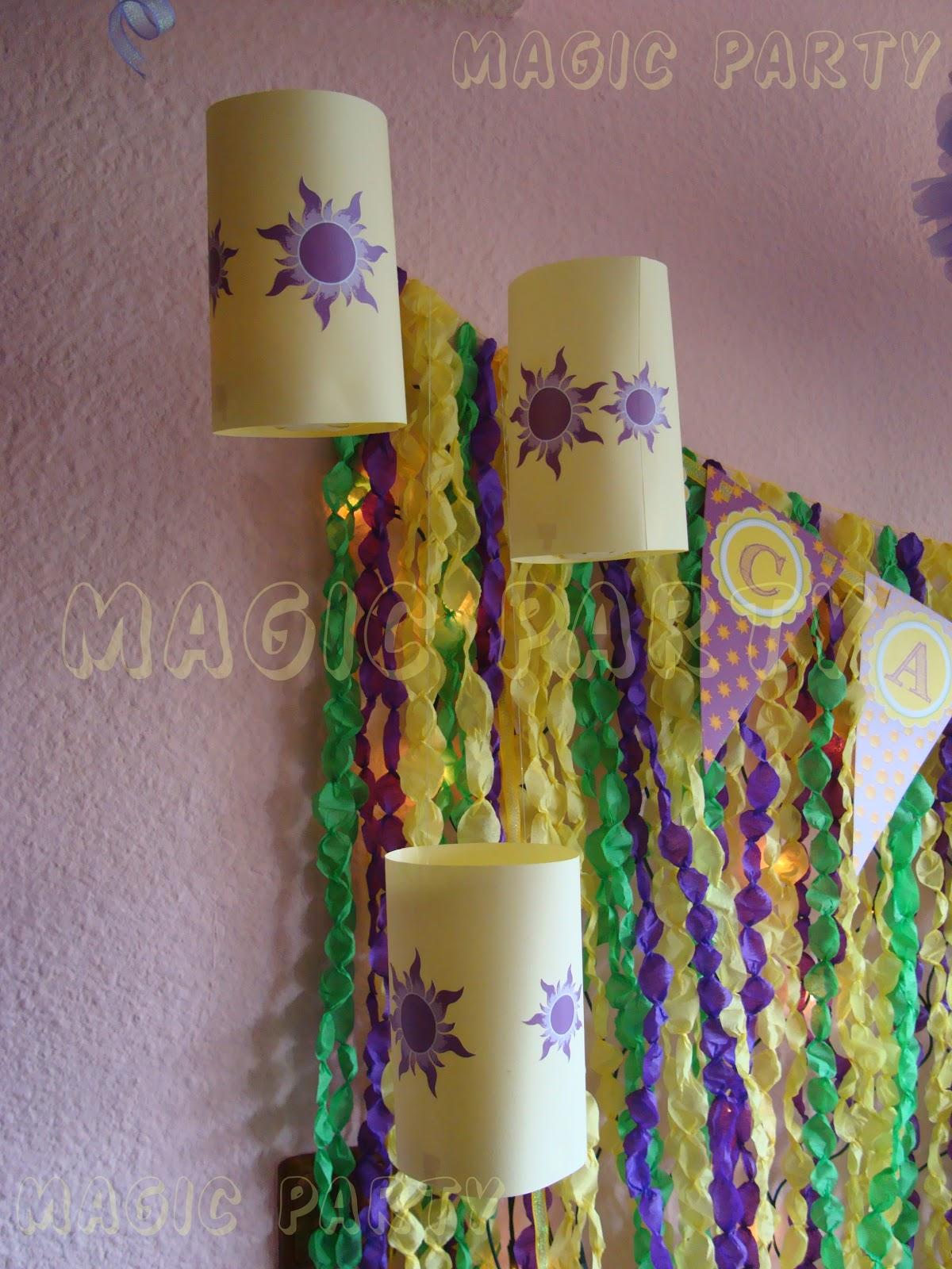 Magic Party Fiesta Enredados Candela cumple 4 aitos