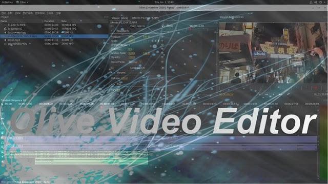 Olive Video Editor