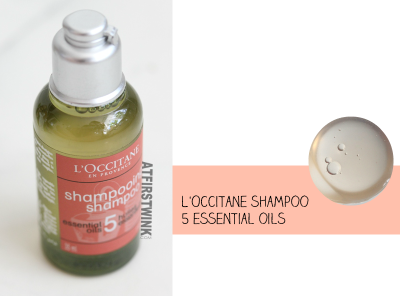 L'Occitane Aromachology repairing shampoo for dry and damaged hair 5 essential oils