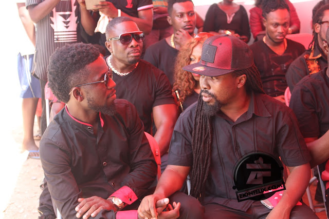 PHOTOS: Ghanaian Celebrities At Bisa Kdei's Mother's Funeral