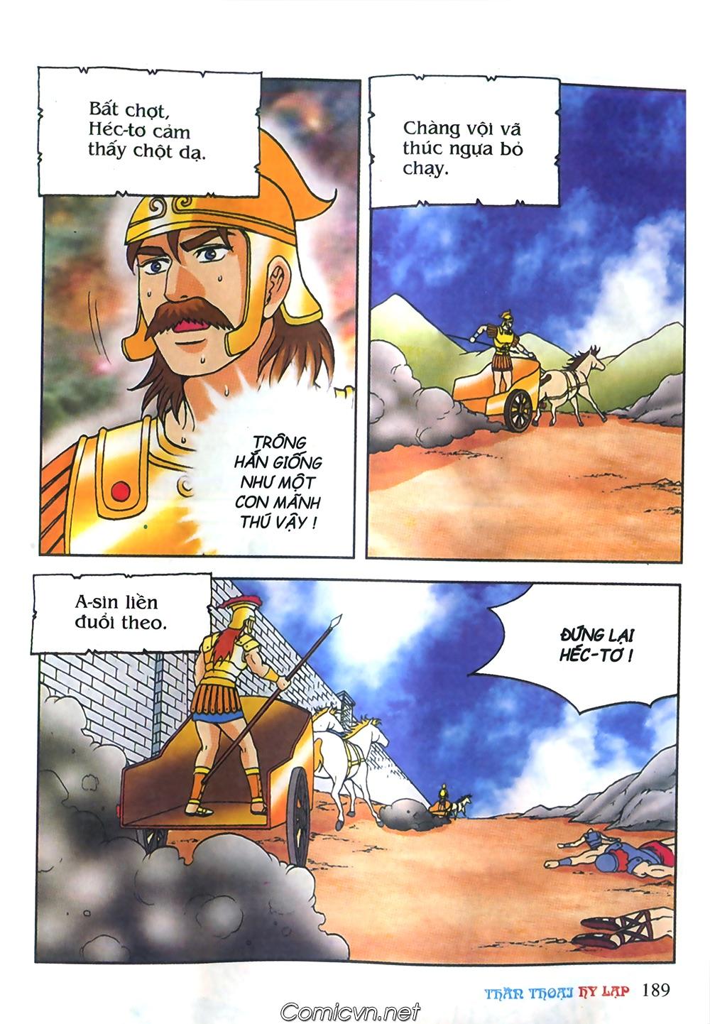 Thần Thoại Hy Lạp Màu - Chapter 61: So tài của hai vị tướng - Pic 18