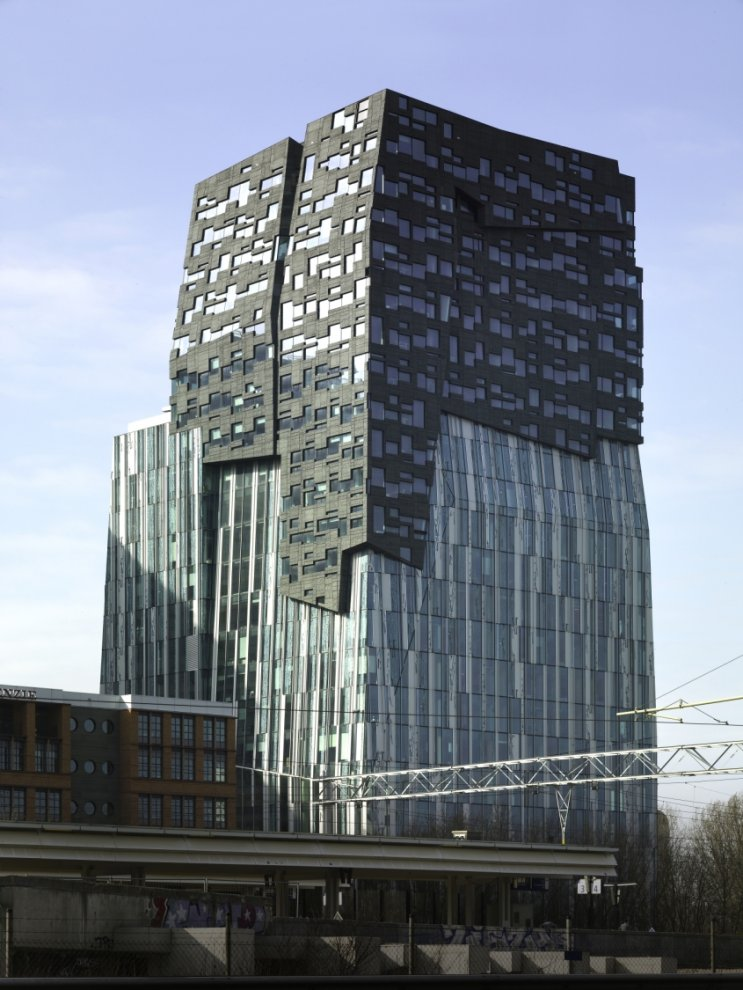 Erick Van Egeraat Office Tower Amsterdam Netherlands