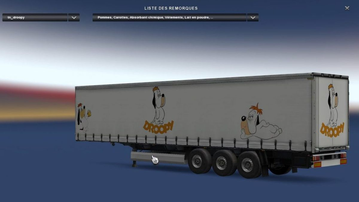 Droopy Profiliner Trailer