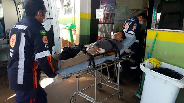 Jovem é baleado por escopeta na cabeça e no rosto em Porto Velho