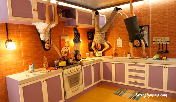 Upside Down World Cebu - kitchen - family time