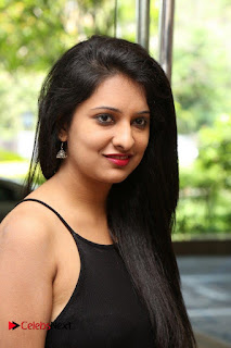 Actress Nikita Bisht Pictures in Black Long Dress at Akritti Elite Exhibition Launch  0006.jpg