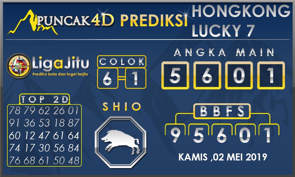 PREDIKSI TOGEL HONGKONG LUCKY7 PUNCAK4D 02 MEI 2019