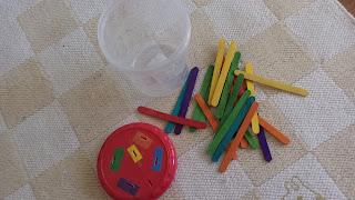 patyczki kreatywne, zabawki DIY