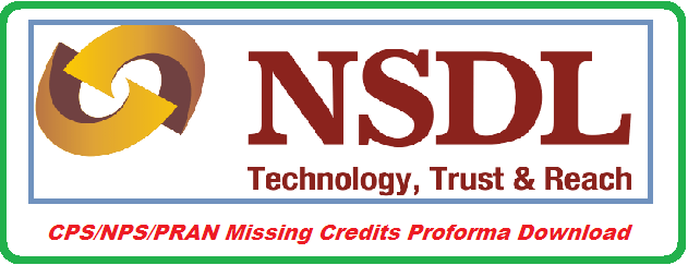 New Pension System NPS  Contributory Pension System CPS Perminent Retirement Account Number PRAN Missing Credits Proforma Download | A proforma reffered by DTOs for Missing credits of  NPS/CPS/PRAN for Telangana and Andhra Pradesh http://www.tsteachers.in/2016/01/ap-ts-nps-cps-pran-missing-credits-proforma-download.html