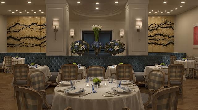 Restaurante The Belvedere em Beverly Hills
