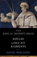 Book Cover of Euclid with clouds by David Berlinski