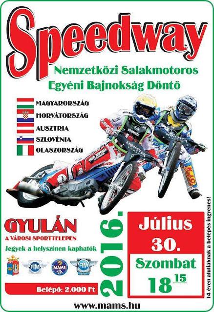 Gyulán rendezik a szlovén-horvát bajnokság utolsó versenyét