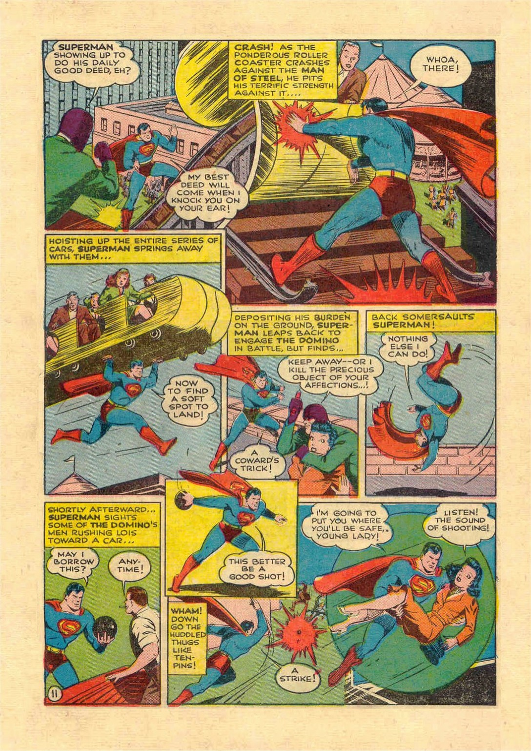 Read online Action Comics (1938) comic -  Issue #46 - 12