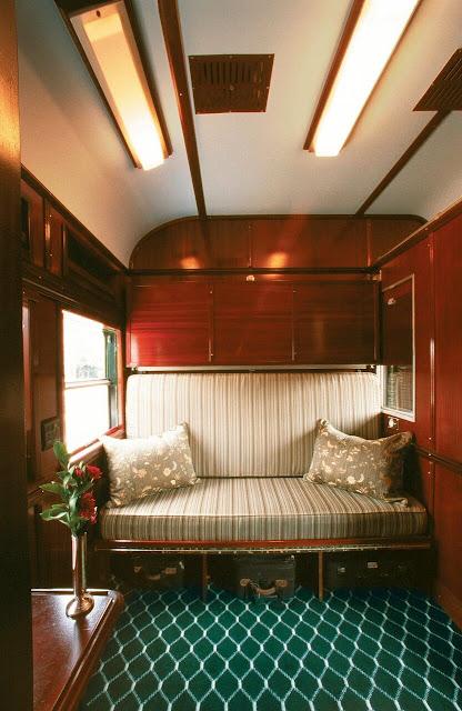 Pullman Suite im Rovos Rail mit Sitzsofa