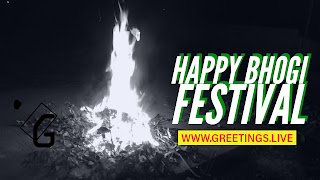 bonfire on Bhogi Festival 2018 Andhra Pradesh Telangana States of India