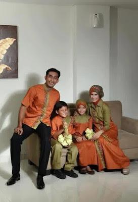 Model Baju Muslim Seragam Keluarga Untuk Pesta Formal Terbaru