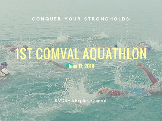 Conquer Your Strongholds: 1st ComVal Aquathlon #VDSF #ExploreComVal