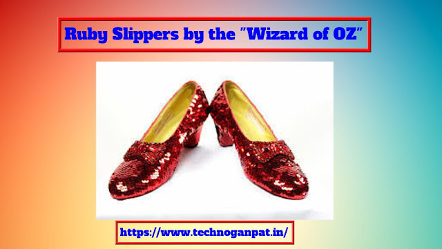 Ruby Slippers by the Wizard of OZ
