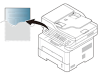 Samsung Printing a network configuration report
