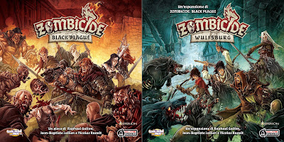 Zombicide Black Plague  + Wulfsburg