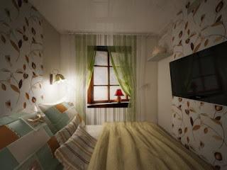 Sugestões para decorar um quarto de casal muito pequeno.