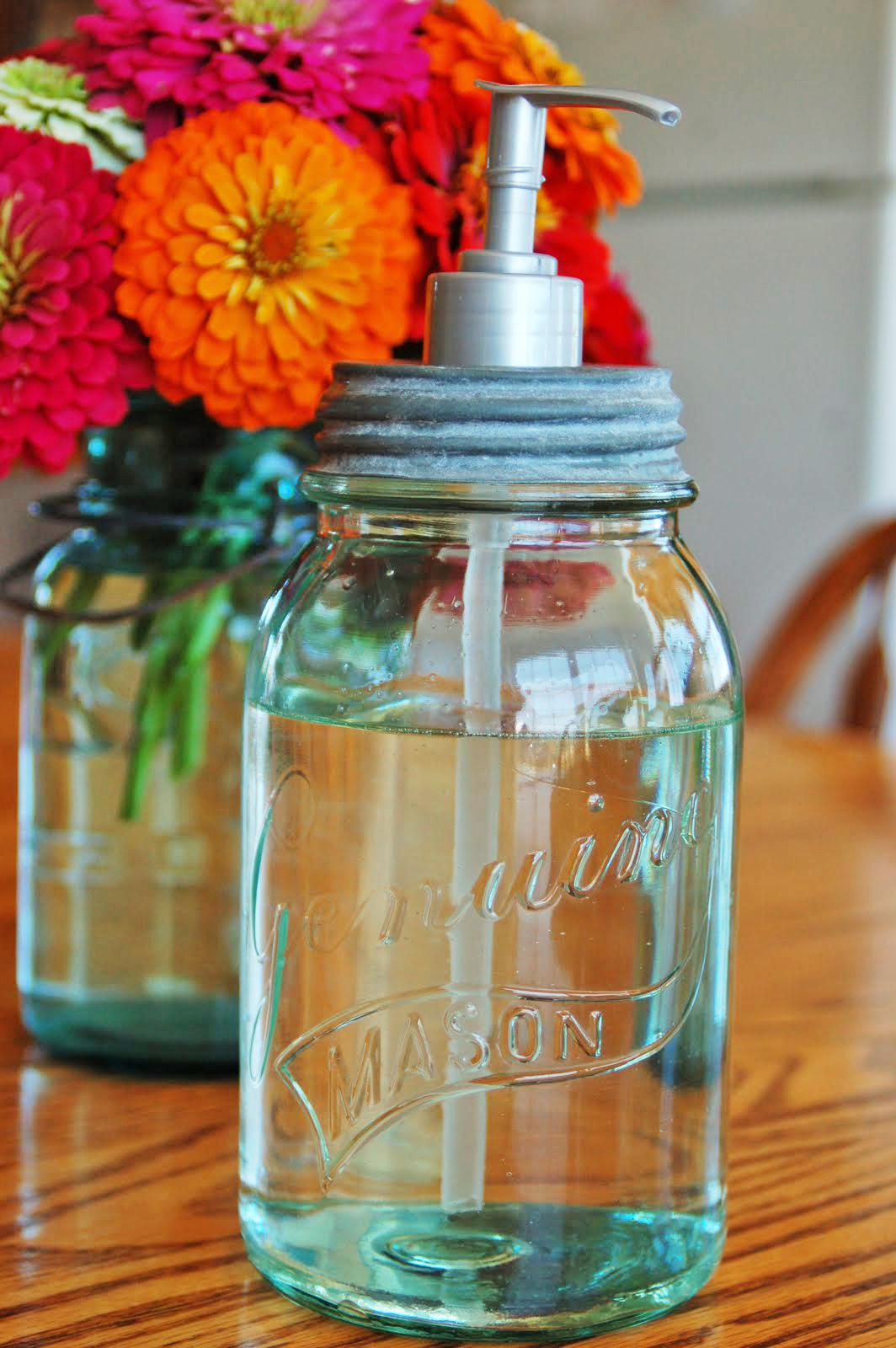 Ben Franklin Crafts and Frame Shop Inspiration Mason Jars