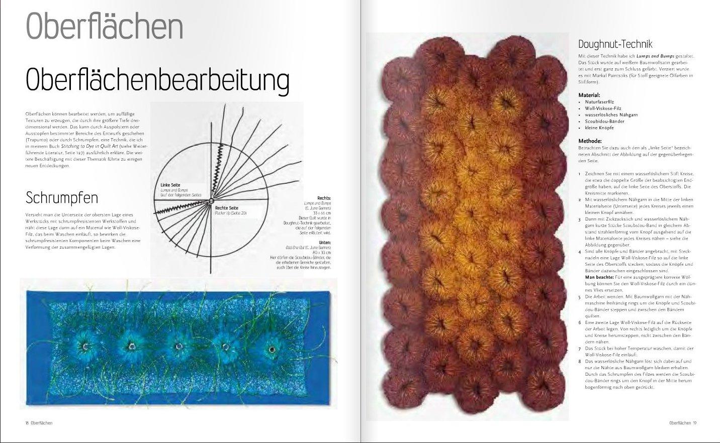 rezension quilten in der dritten dimension techniken und projekte amberlight label. Black Bedroom Furniture Sets. Home Design Ideas
