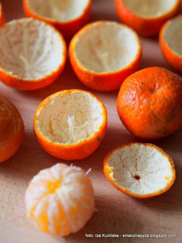 nie wyrzucaj skorek, skorki z cytrusow, lampki z mandarynek, swieczki owocowe