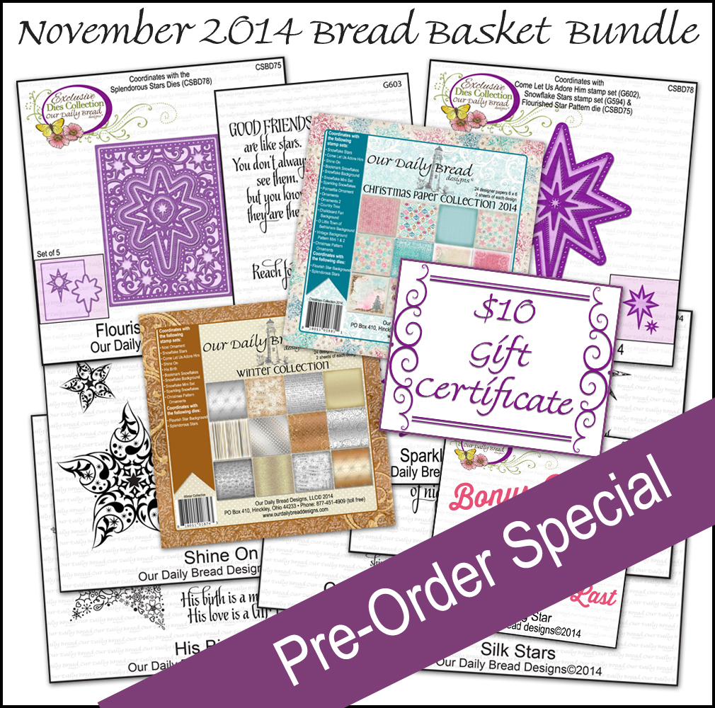 ODBD November 2014 Bread Basket Bundle Pre-Order Special