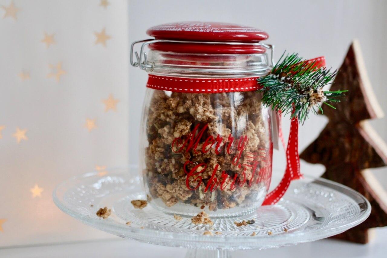 Weihnachtliches Knuspermüsli
