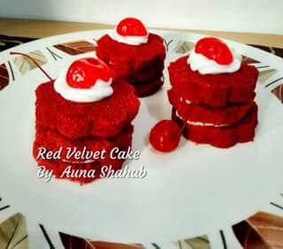 resep red velvet cake home made