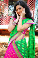 HeyAndhra Pujitha Hot Photos in Saree HeyAndhra.com