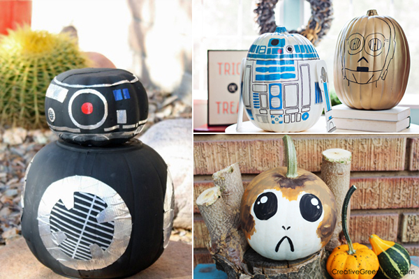 12 Diy Star Wars Halloween Pumpkins That Will Blow Your Mind