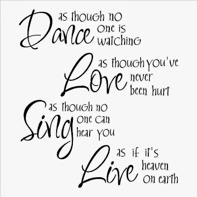 Dance As Though No One Is Watching, wall decal, home decor, artpreneure-20